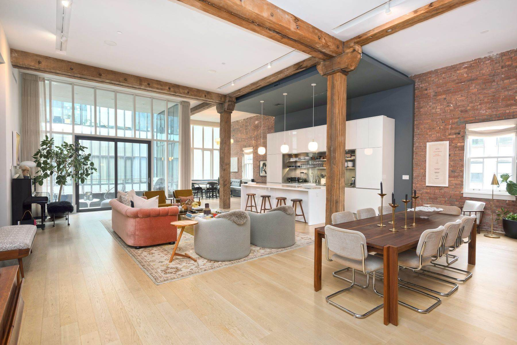 Condominiums at Unique Dumbo Loft Masterpiece 185 Plymouth Street, Apt 3S Brooklyn, ニューヨーク 11201 アメリカ