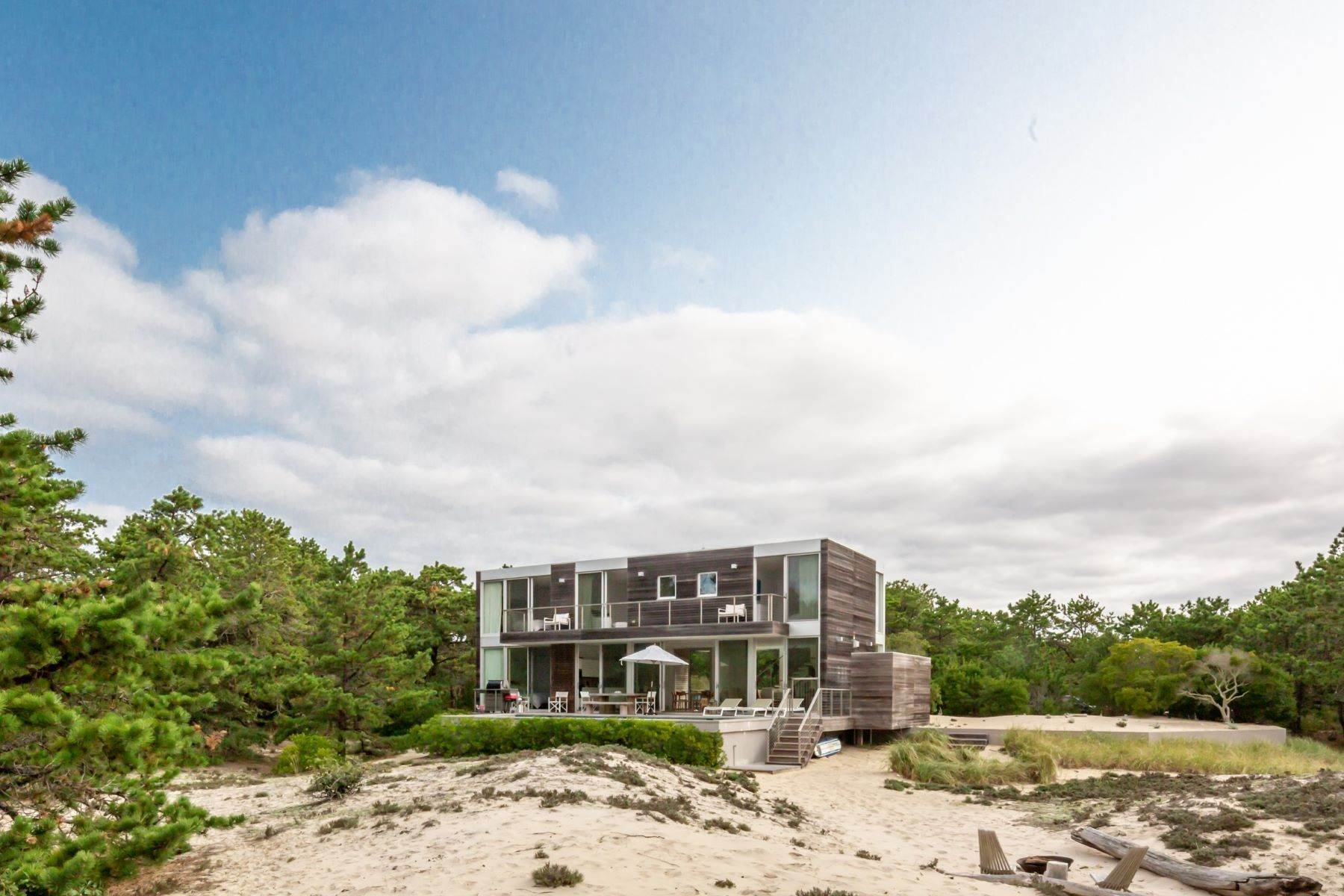 Single Family Homes en Stelle Lamont Design In The Dunes 2 Mitchell Dunes Amagansett, Nueva York 11930 Estados Unidos